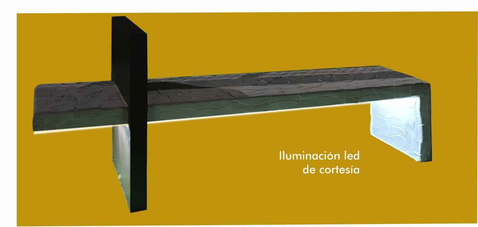 Banco Modelo 3 - Con Luz Led