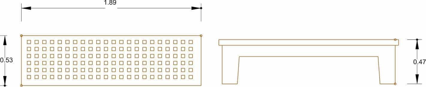 Banco Modelo 8 - Acotaciones