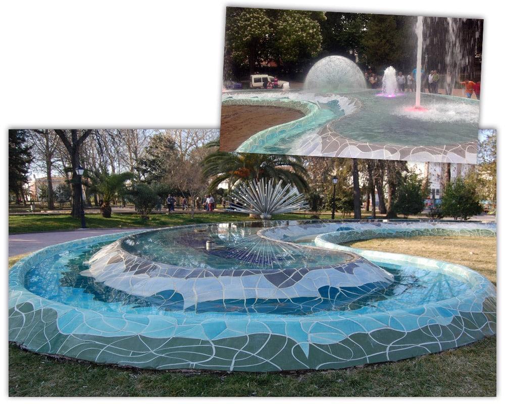 Fuente en Montehermoso