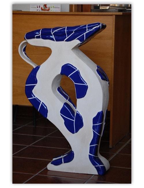 Escultura de Jarrón