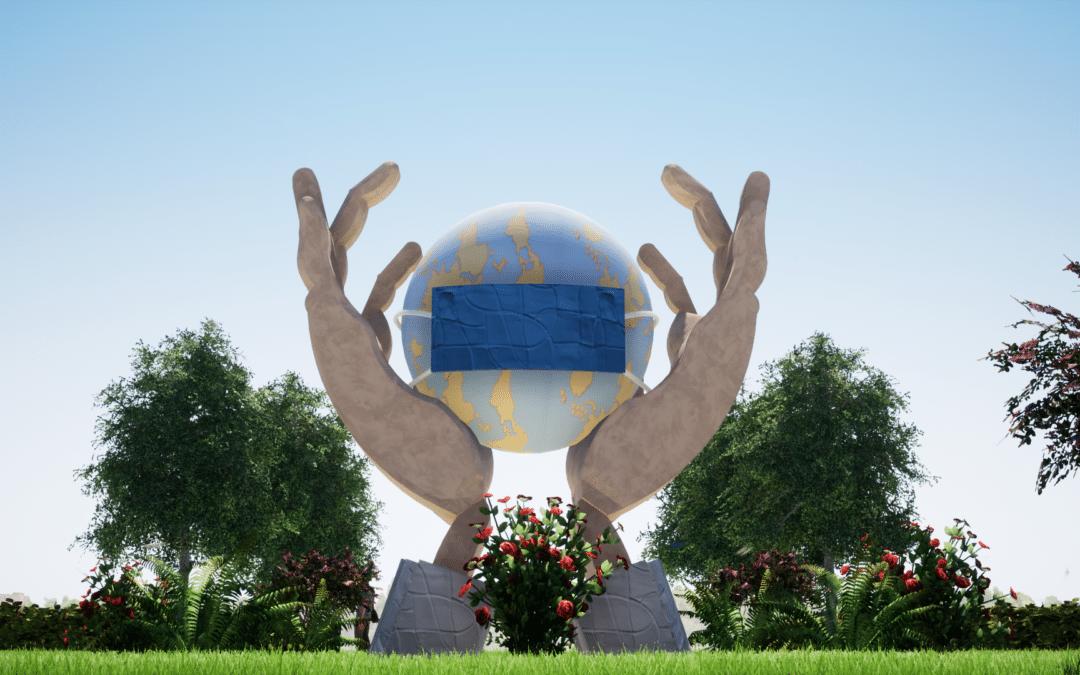 Escultura en Honor a los Sanitarios